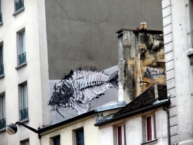 Œuvre Par bonom à Paris