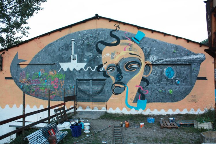 Artwork By Nikodem in Tolosa