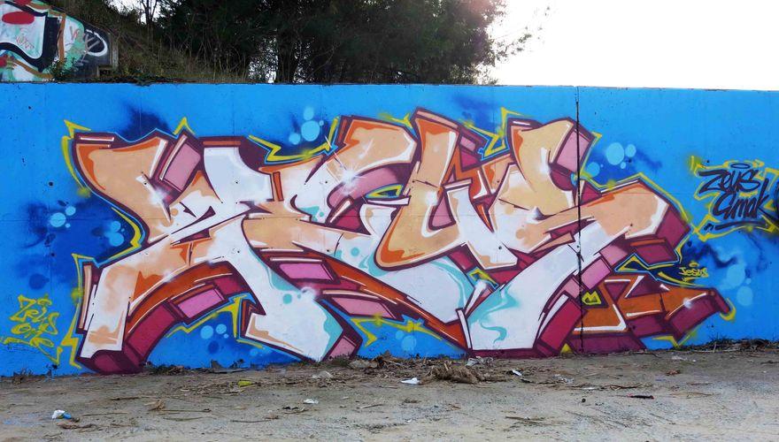 Artwork By zeus in Barcelona