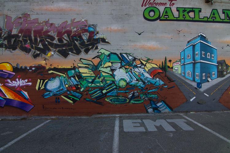 Œuvre Par suer à Oakland
