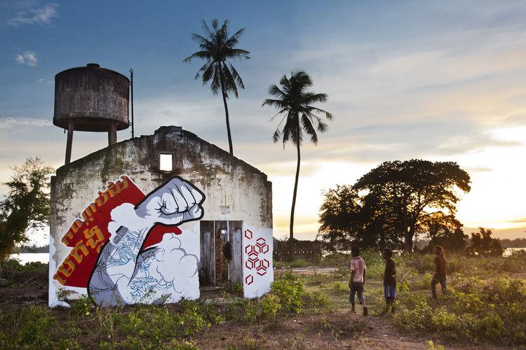 Œuvre Par Chifumi à Phnom Penh
