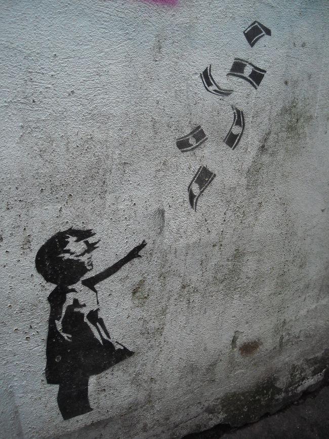 Artwork By Banksy in Brighton