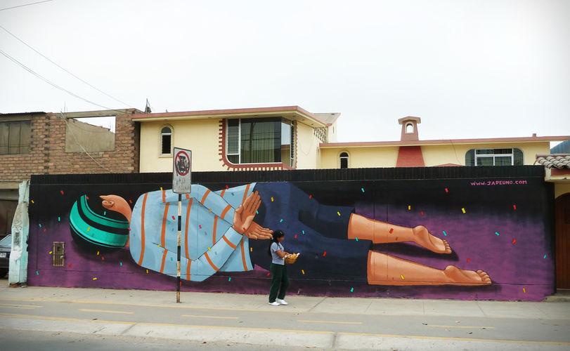 Œuvre Par Jade Uno à Lima