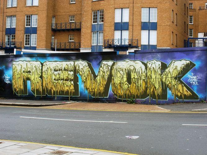 Artwork By Revok in Brighton