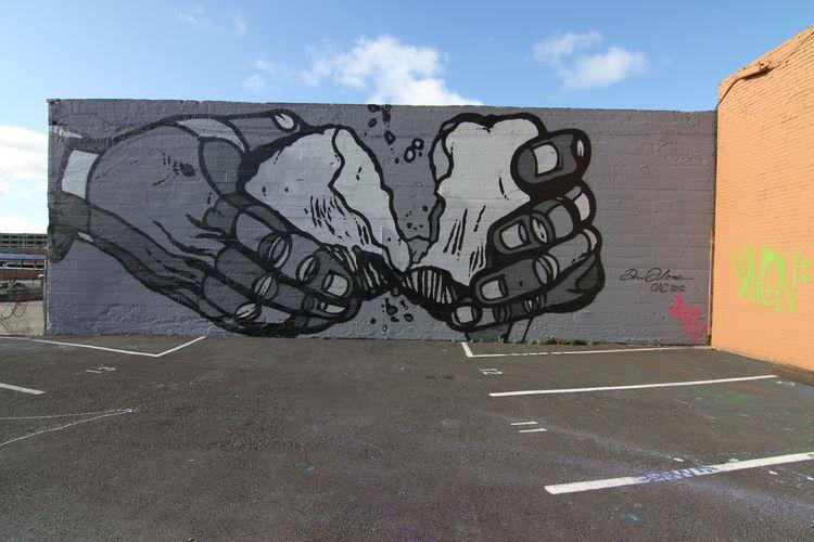Œuvre Par david p flores à Oakland