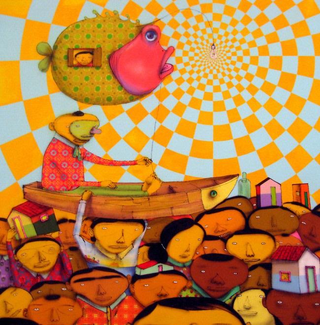 Artwork By Os Gemeos in Owenton