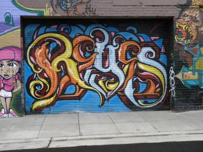 Artwork By Reyes in San Francisco