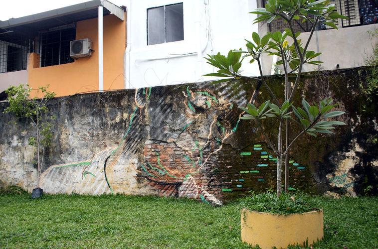 Œuvre Par Karl Addison à Penang