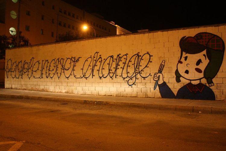 Œuvre Par Eme à Carthagène, région de Murcie