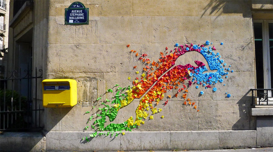 Artwork By Mademoiselle Maurice in Paris