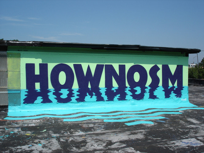 Œuvre Par Nosm, How à New York