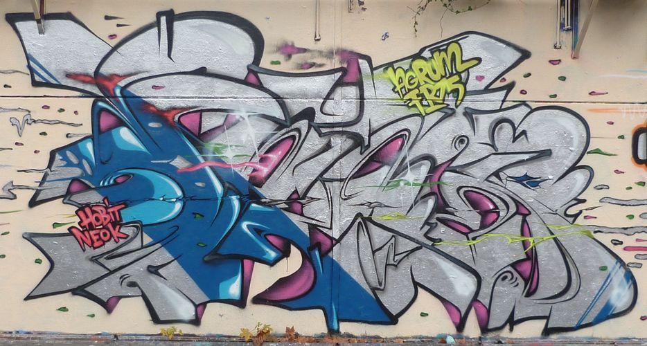 Artwork By AGRUME in Palaiseau