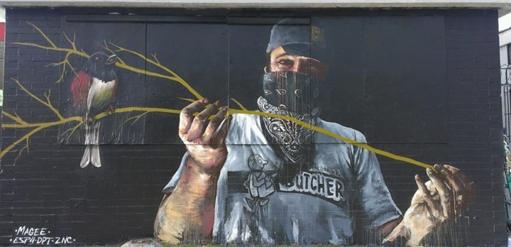Artwork By Fintan Magee in Cotulla