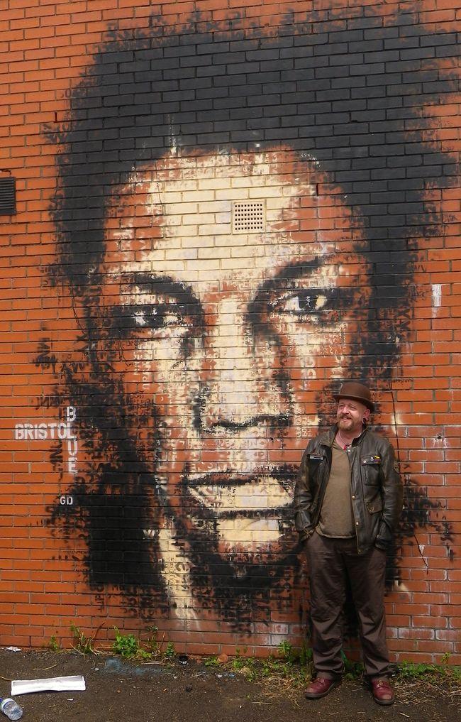 Artwork By Guy Denning in Bristol