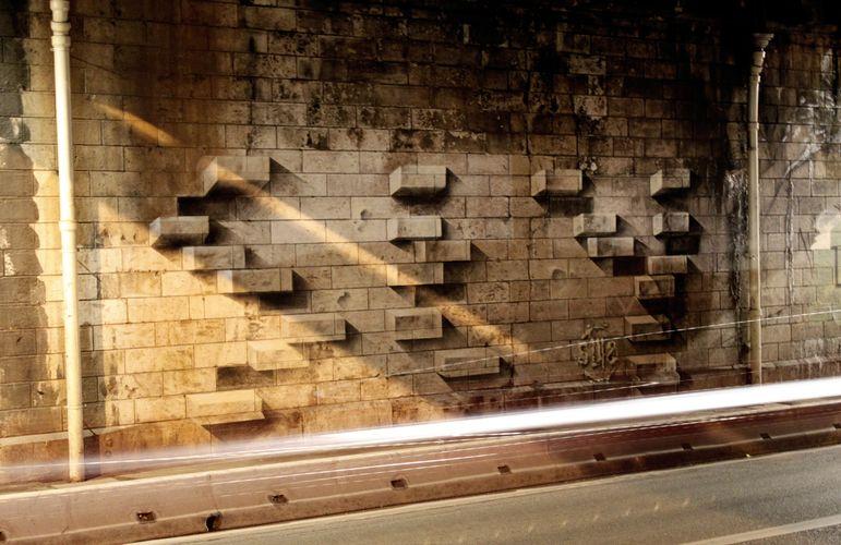 Œuvre Par sly2 à Paris (Illusion)