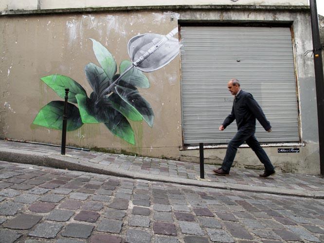 Artwork By Ludo in Paris