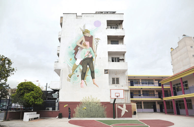 Artwork By Fikos in Athens
