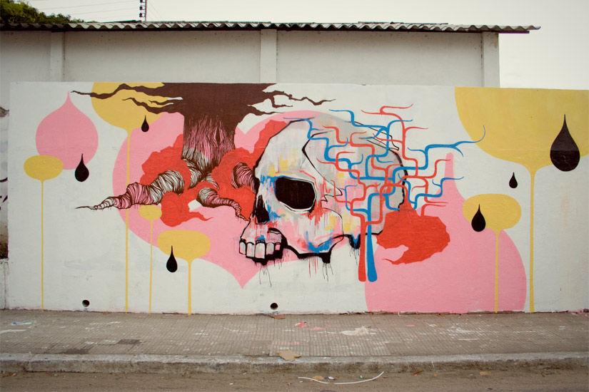 Œuvre Par Blo à Fortaleza