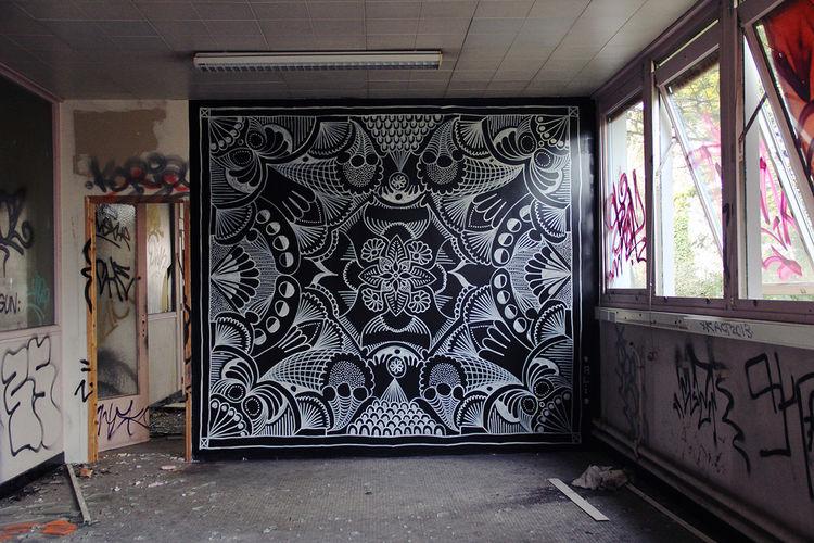 Œuvre Par Arthur-Louis Ignoré à Rennes (Patterns)