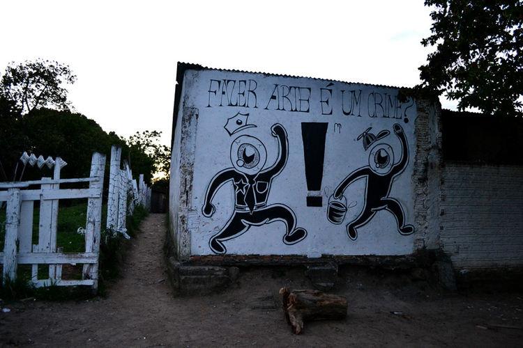 Artwork By Marcos Torres in Porto Alegre