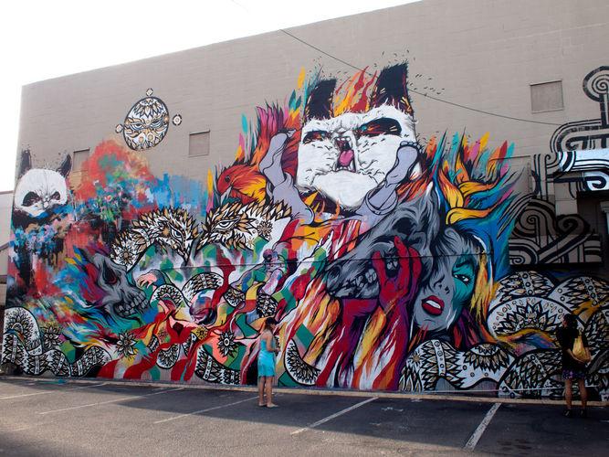 Œuvre Par Phibs, Rone, Will Barras, Mr Jago à Honolulu