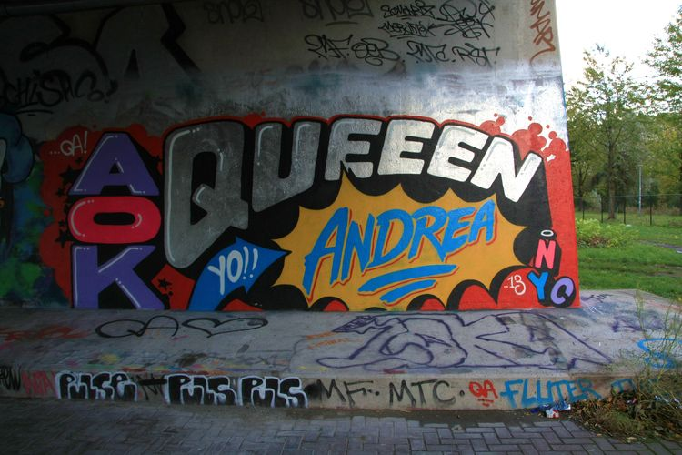 Artwork By Queen Andrea in Amsterdam