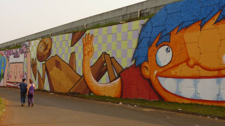 Artwork By ozmontania in Foz do Iguaçu