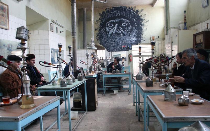 Œuvre Par Sot à Tabriz