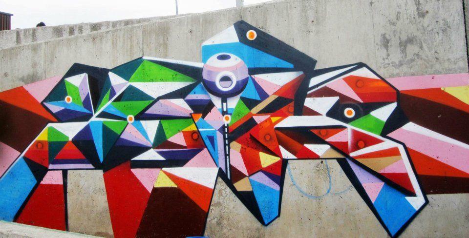 Artwork By Alapinta in Temuco