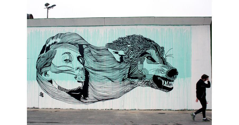 Œuvre Par Don John à Copenhague (Nature, Street Art)