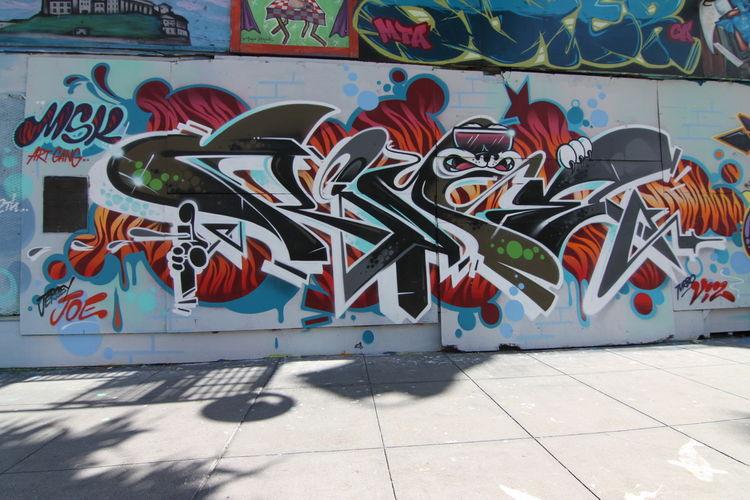 Œuvre Par Rime à San Francisco