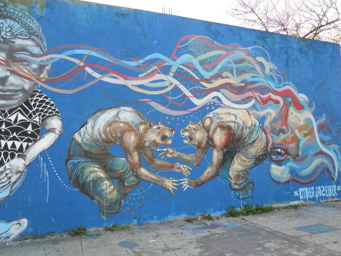 Œuvre Par Jaz, Ever à Buenos Aires