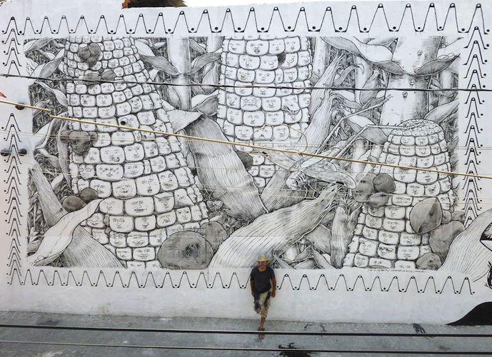 Artwork By Liqen in Puebla City