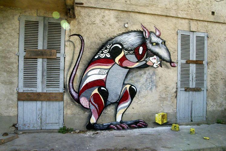 Œuvre Par Goddog à Avignon