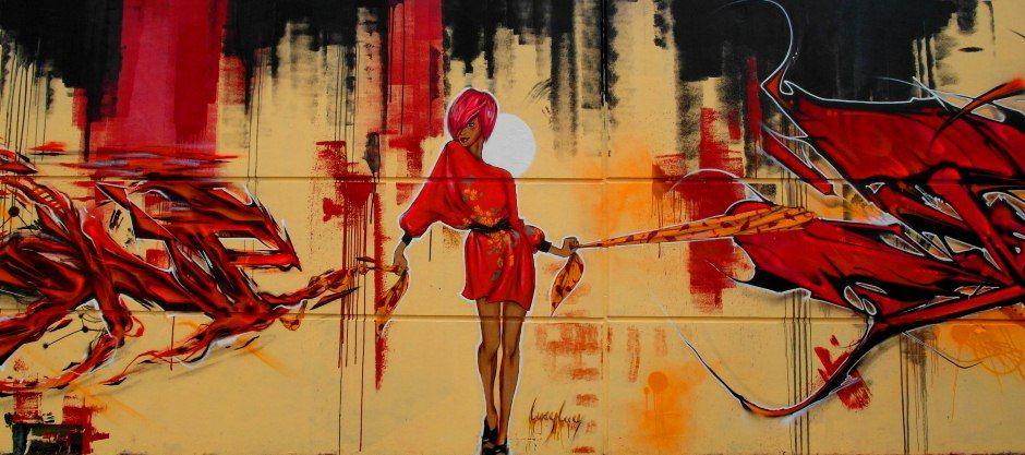 Œuvre Par Lucy Lucy à Paris