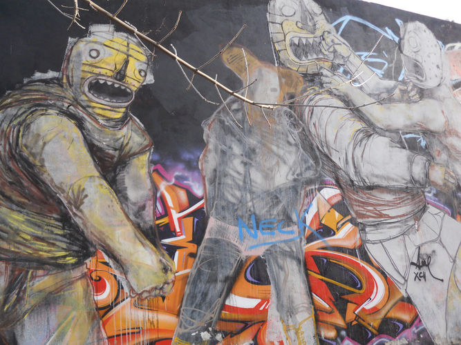 Œuvre Par Jaz à Buenos Aires