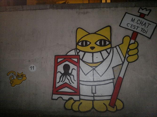 Artwork By Monsieur Chat in Sète