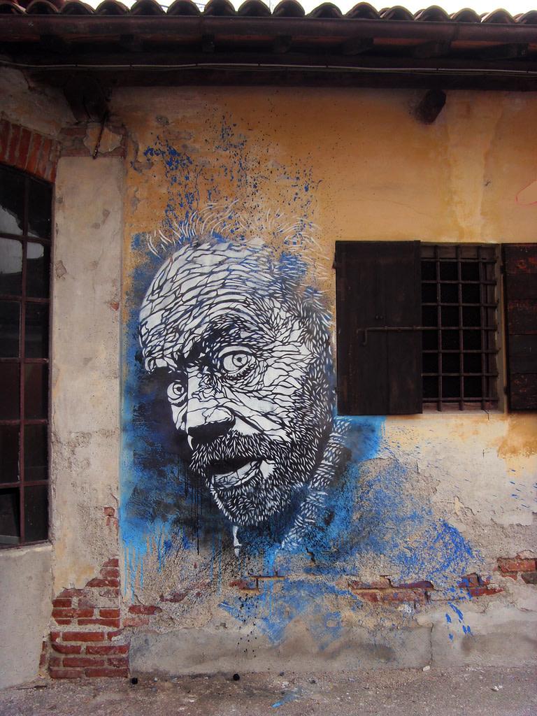 Artwork By C215 in Bassano del Grappa