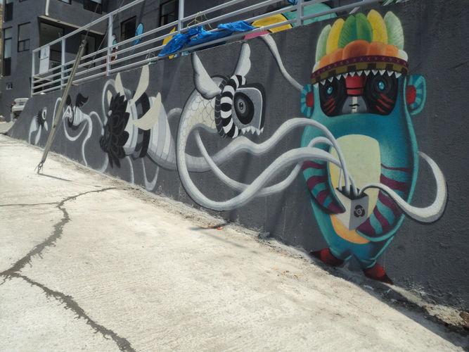 Artwork By El Curiot in Morelia