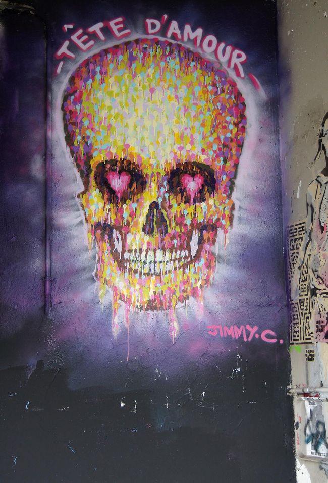 Artwork By Jimmy C in Paris