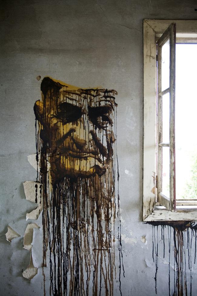 Œuvre Par Daniel Eime à Porto
