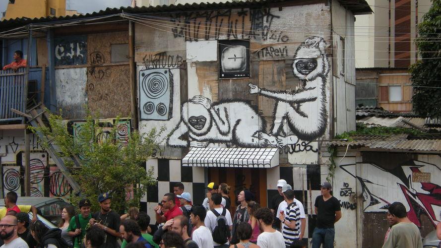 Œuvre Par SUBTU à São Paulo (Nature, Street Art)