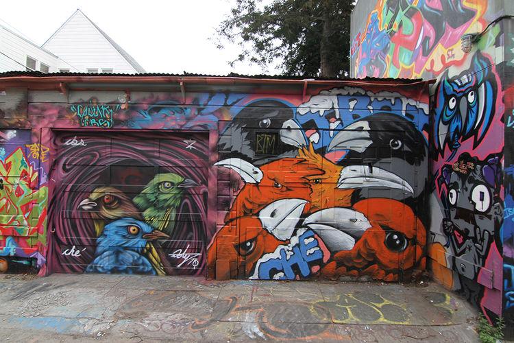 Œuvre Par ernest doty, Irot à San Francisco
