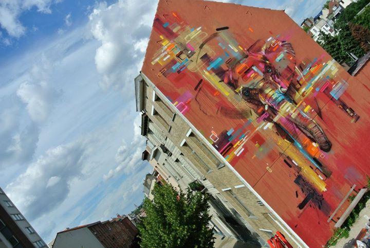 Œuvre Par Steve Locatelli à Bruxelles