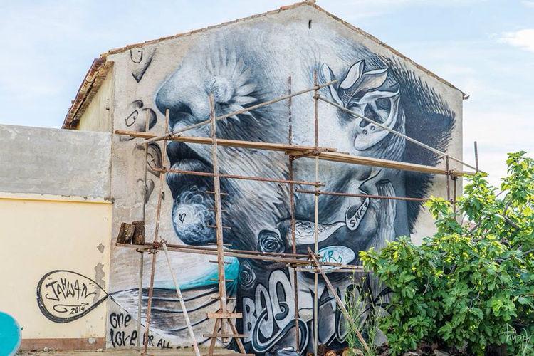 Artwork By JAHWAN in Nice