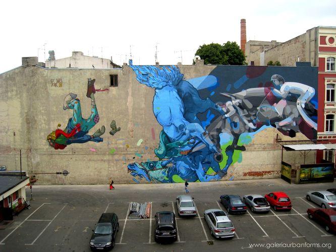 Artwork By Satone, Bezt, Sainer in Łódź