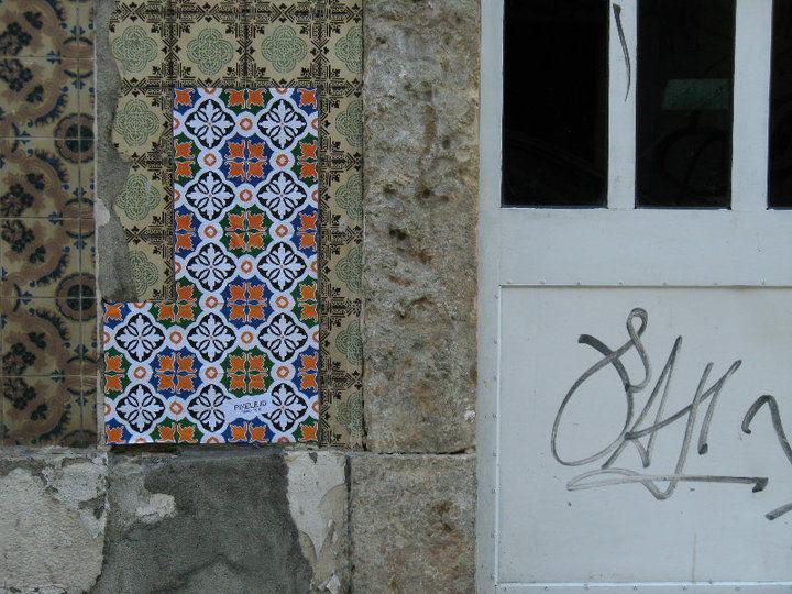 Œuvre Par Tiago Tejo à Lisbonne