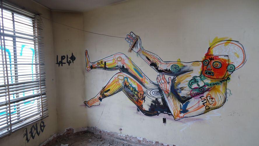 Artwork By Lelotzin in Mexico City