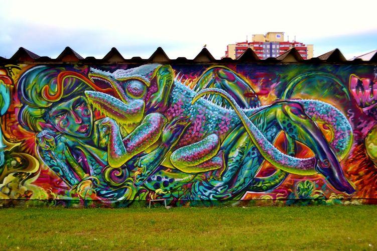 Œuvre Par rizo à Florianópolis (Nature, Abstrait)