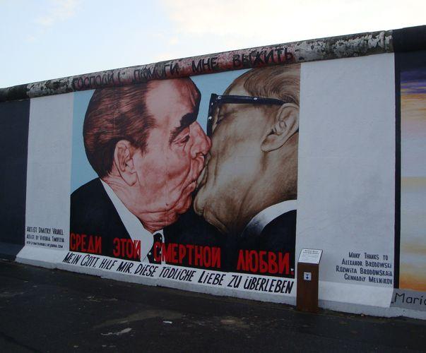 Œuvre Par Dimitry Vrubel à Berlin